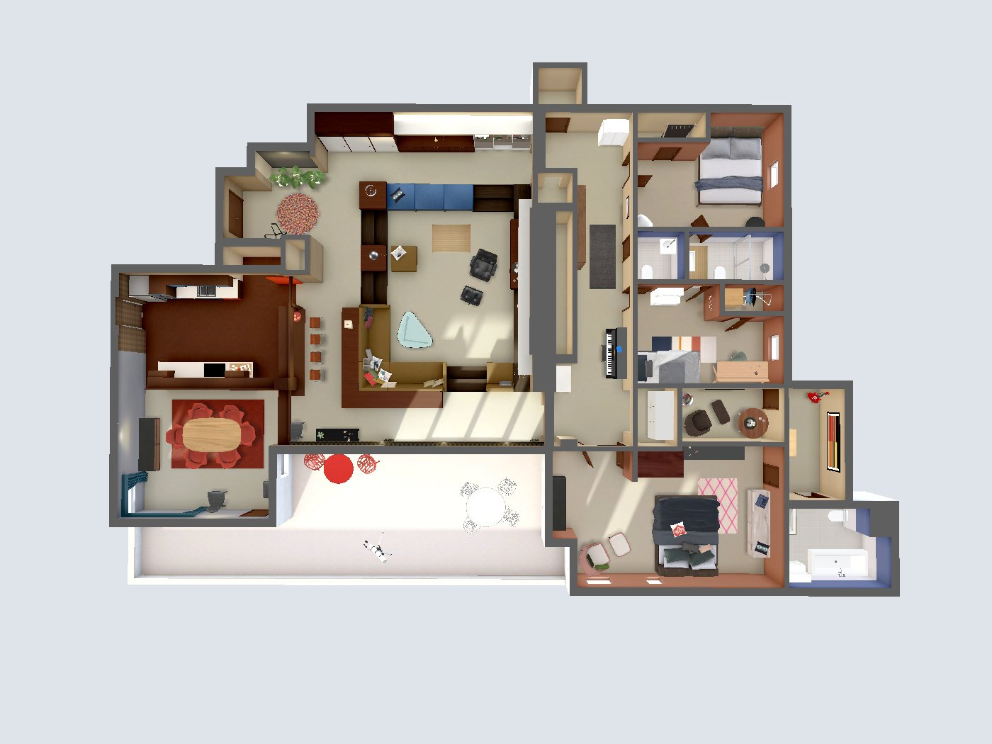 archilogic don draper s apartment